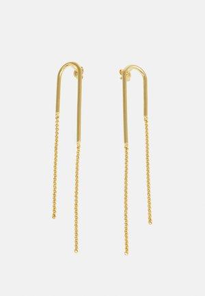 BOLD EARRINGS - Oorbellen - gold-coloured