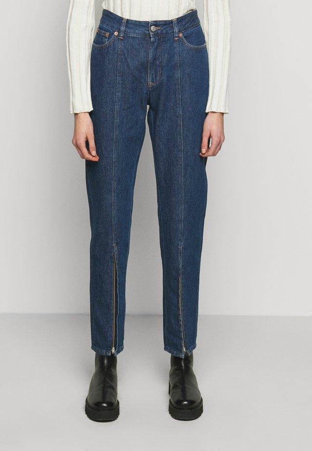 Straight leg jeans - indigo