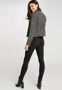 Morgan - Faux leather jacket - black - 2