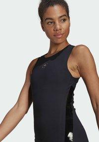 adidas by Stella McCartney - SUPPORT CORE  - Sports shirt - black - 3