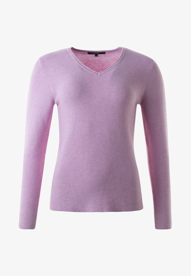 HOLLY - Sweatshirt - rose mel
