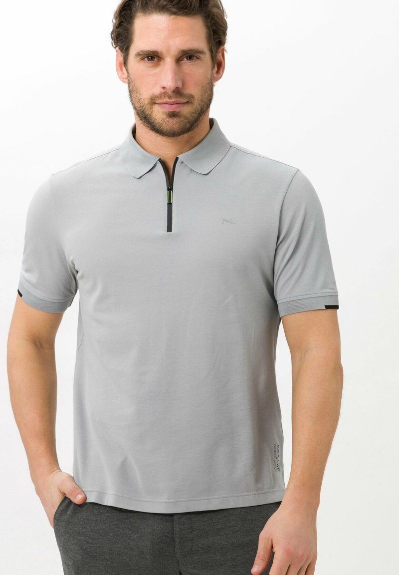 BRAX - STYLE PERCY - Polo shirt - cement