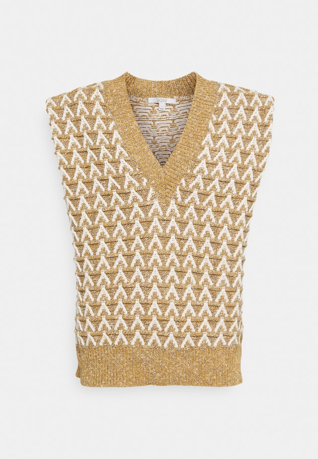 FLORA - Pullover - yellow/multi