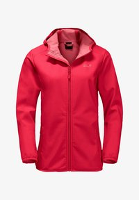 Jack Wolfskin - Soft shell jacket - clear red - 2