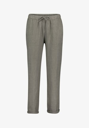 Trousers - linen green