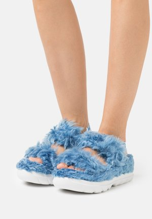 FLUFF SUGAR  - Platform sandals - blue