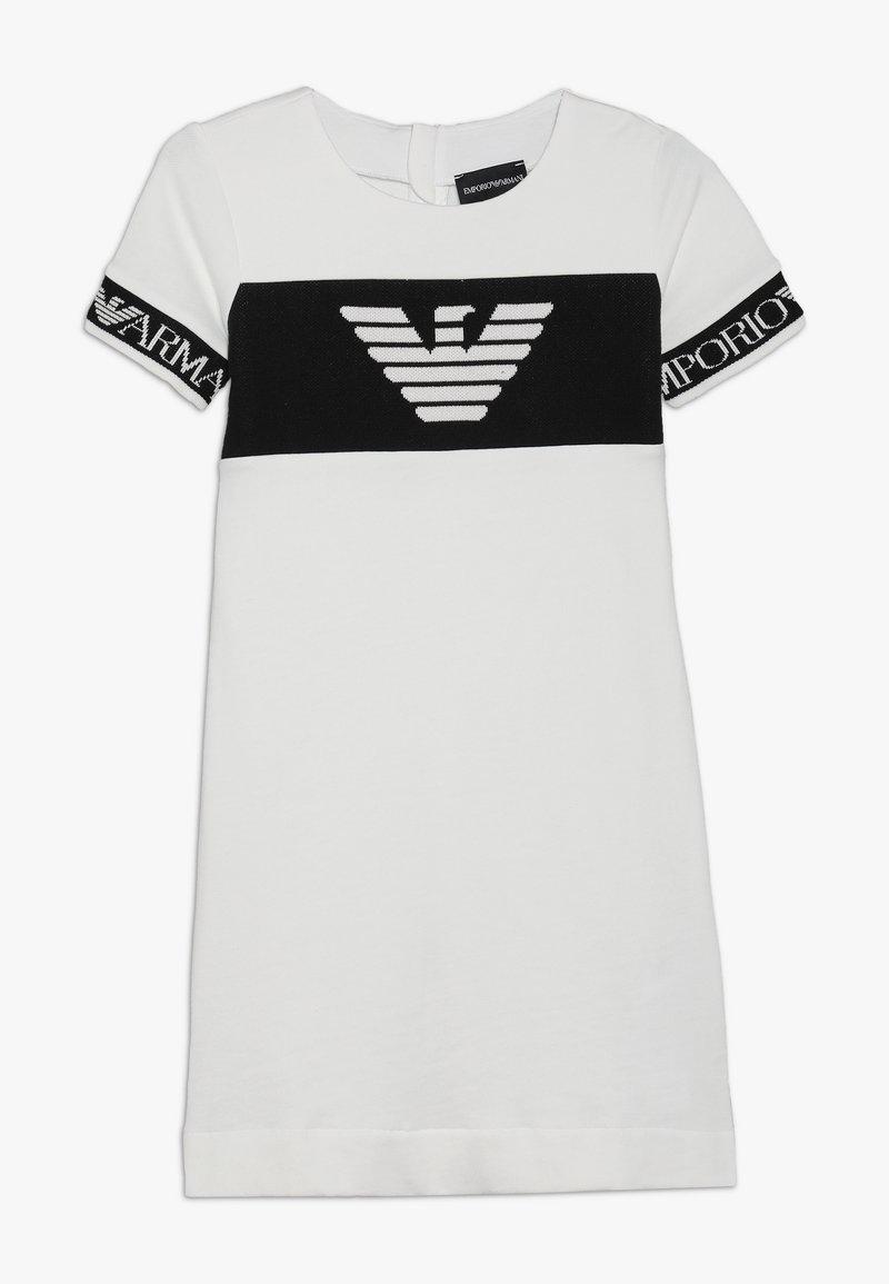 Emporio Armani - VESTITO - Day dress - bianco caldo