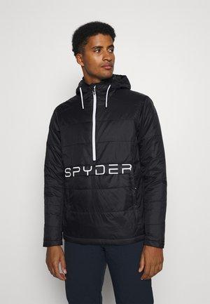 GLISSADE ANORAK - Ski jacket - black