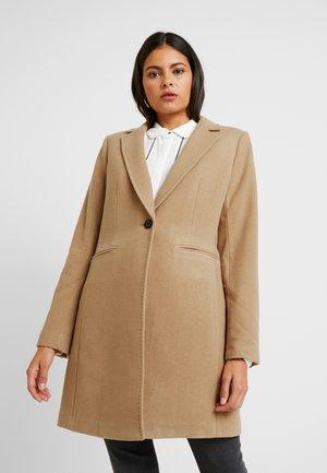 MELTON COAT - Zimní kabát - camel