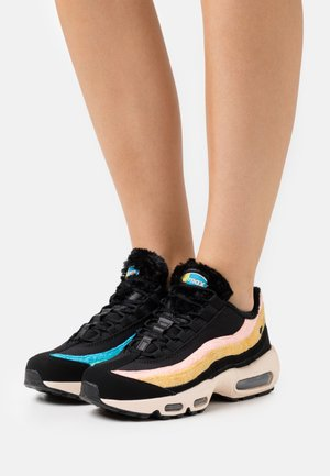 AIR MAX 95 - Trainers - black/atomic pink/solar flare/guava ice/laser blue