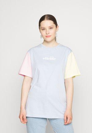BUONANOTTE TEE - Print T-shirt - light blue