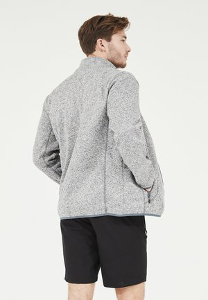 SAMPTON - Fleece jacket - 1005 light grey melange