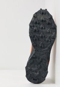 Salomon - ALPHACROSS BLAST - Trail running shoes - umber/vanilla/ebony - 5