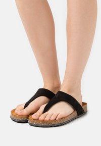 Tamaris GreenStep - T-bar sandals - black - 0