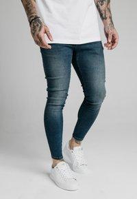 SIKSILK - Slim fit jeans - midstone blue - 0