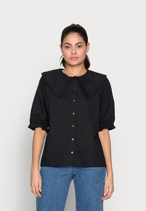 JULES SHIRT - Button-down blouse - black