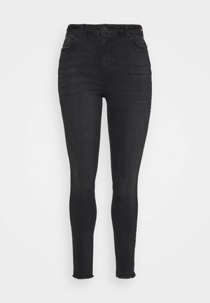 VMHANNA RAW - Jeans Skinny - black