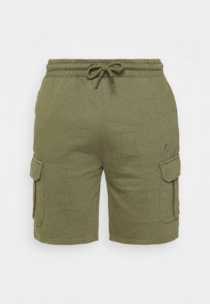 SMALL SIGNATURE WASHED - Shorts - green