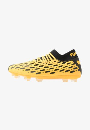 FUTURE 5.2 NETFIT FG/AG - Moulded stud football boots - ultra yellow/black