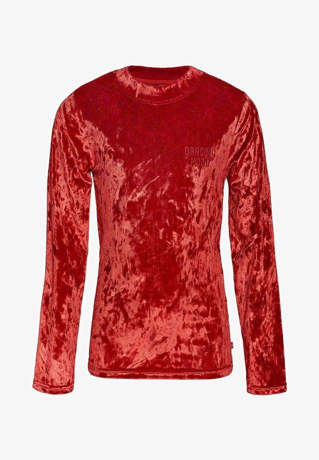 MEISJES - Long sleeved top - red