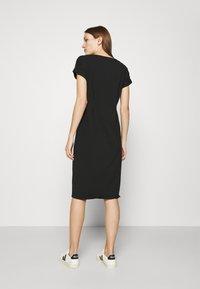 Liu Jo Jeans - ABITO - Jersey dress - nero - 2