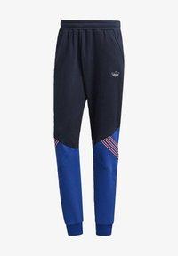 adidas Originals - SPRT ARCHIVE MIXED MATERIAL JOGGINGHOSE - Träningsbyxor - blue - 5