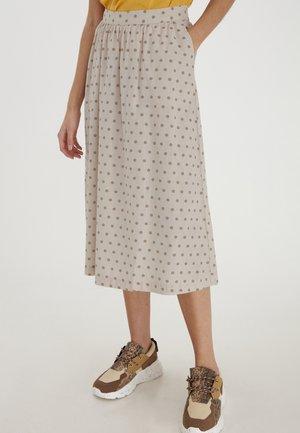 A-line skirt - tapioca