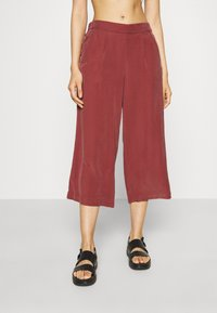 ONLY - ONLCARISA MAGO LIFE CULOTTE PANT  - Trousers - apple butter - 0