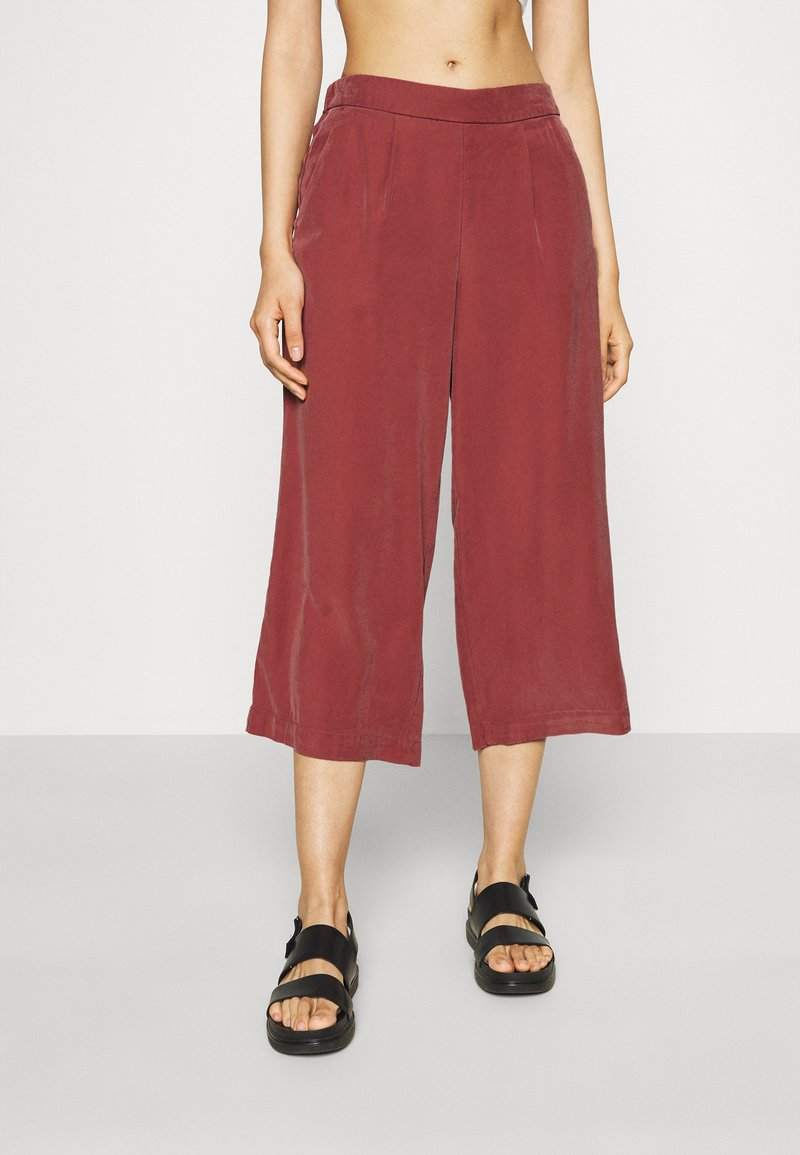 ONLY - ONLCARISA MAGO LIFE CULOTTE PANT  - Trousers - apple butter