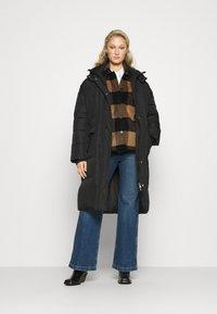 AllSaints - LUELLA CHECK JACKET - Light jacket - brown/black - 1