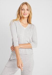 AMOSTYLE - LIGHTWEIGHT - Pyjamasoverdel - grey combination - 0