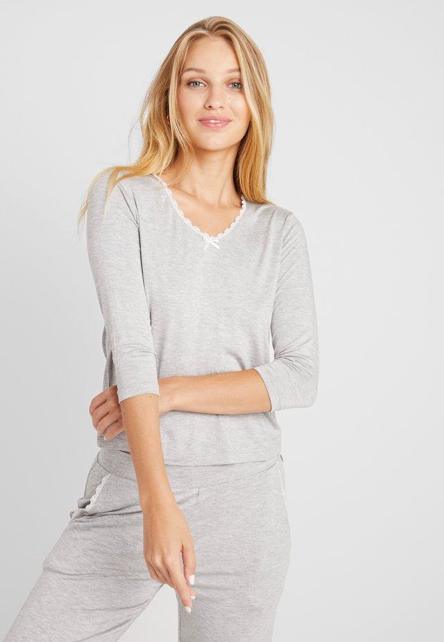 LIGHTWEIGHT - Pyjamashirt - grey combination