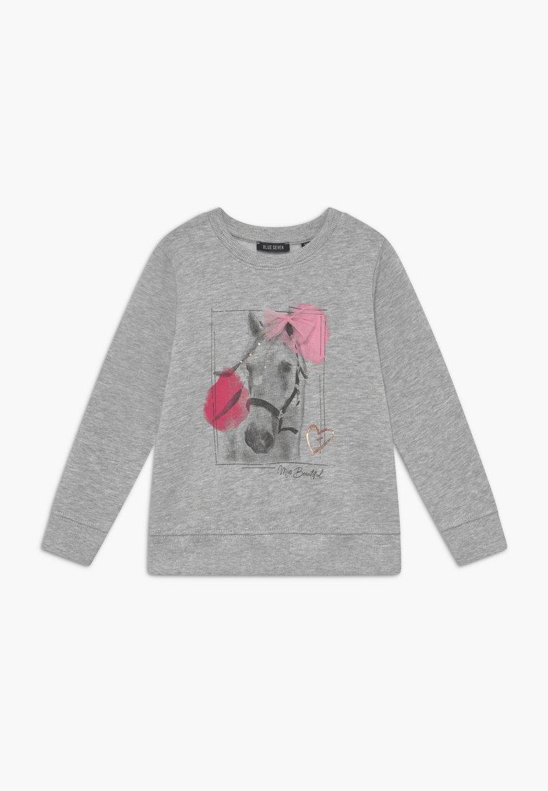 Blue Seven - KIDS GREY HORSE  - Sweater - nebel