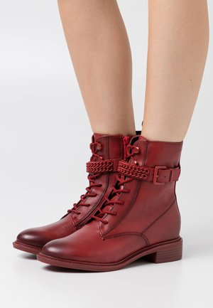 BOOTS - Lace-up ankle boots - cayenne