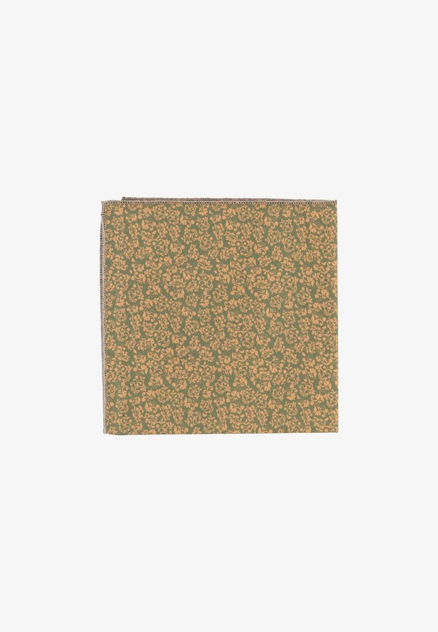 FIORE - Pocket square - orange, grün