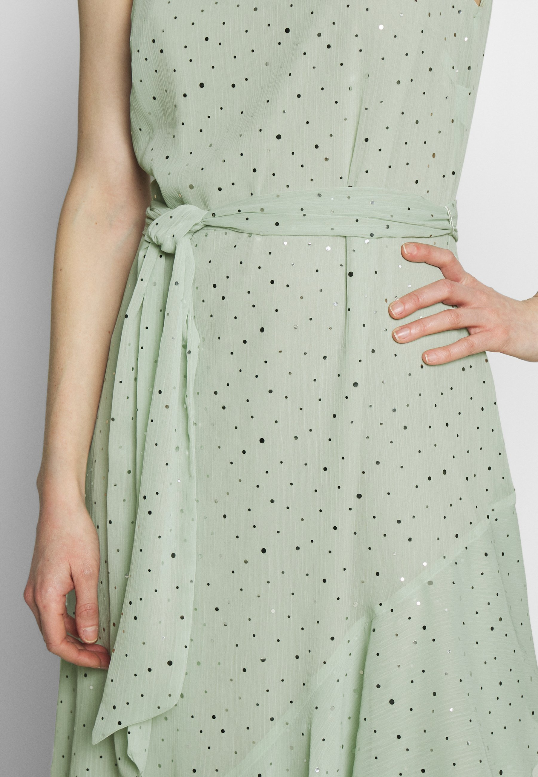 Wallis Glitter Tiered Dress - Robe D'été Mint