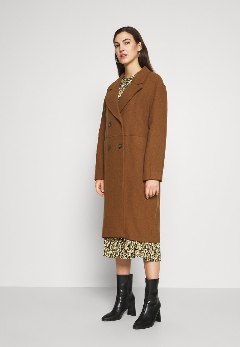 mbyM - PAVIELLE - Classic coat - pecan