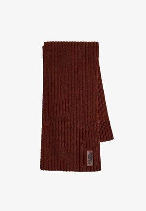 Sjaal - oranjebruin