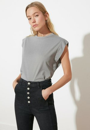 Basic T-shirt - gray
