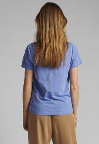 Nümph - Basic T-shirt - wedgewood - 1