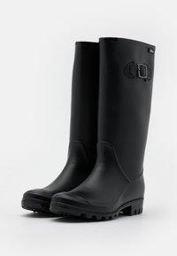 XTI - Gummistøvler - black - 2