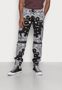 Sixth June - BANDANA PANTS - Cargo trousers - black - 0