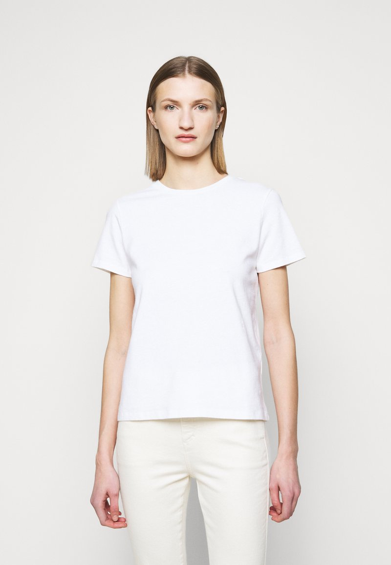 CLOSED - Basic T-shirt - ivory