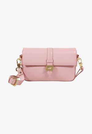 Across body bag - ballet pink