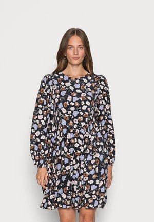SLFHERI SHORT DRESS - Kjole - blue graphite