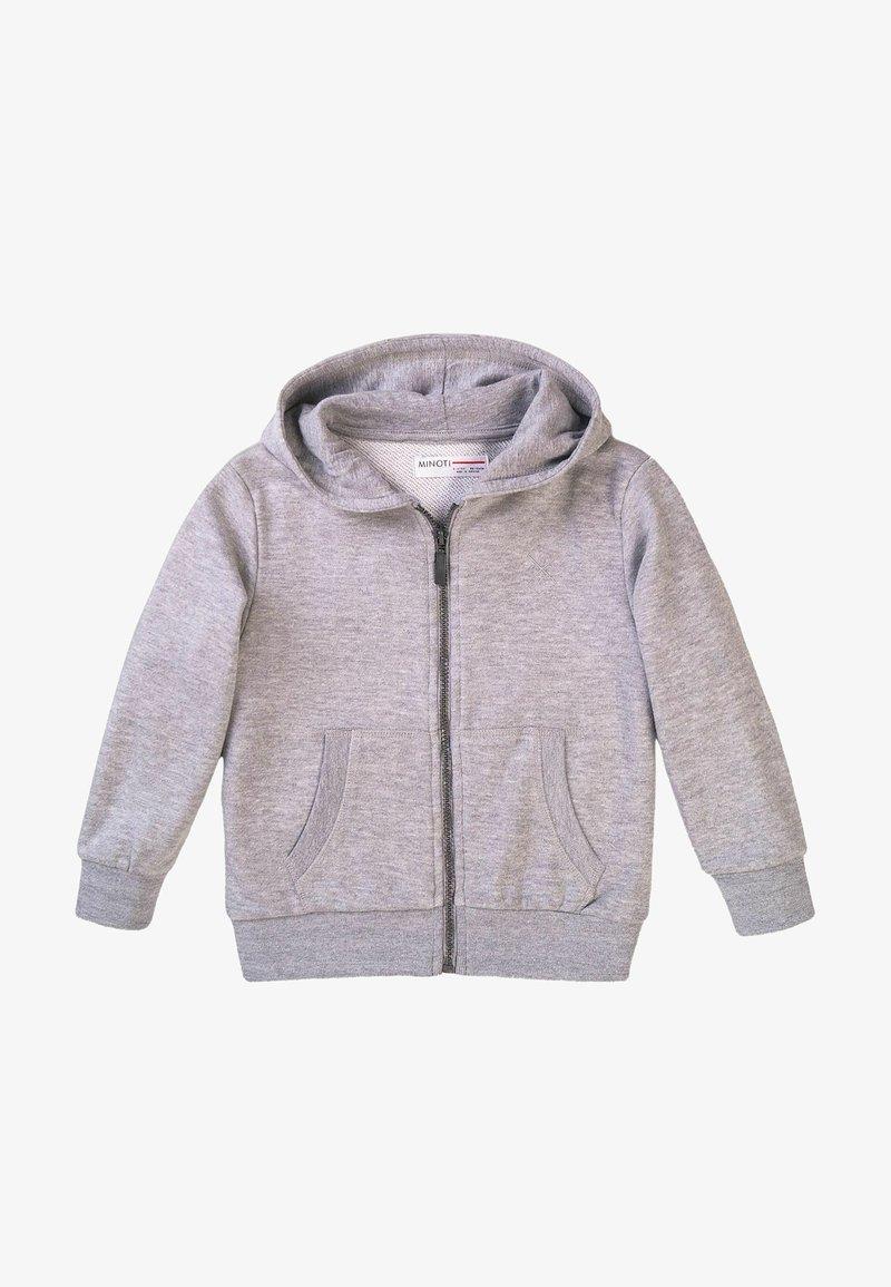 MINOTI - Zip-up hoodie - grey