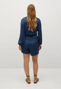 Violeta by Mango - COURT FLUIDE - Jumpsuit - bleu électrique - 2