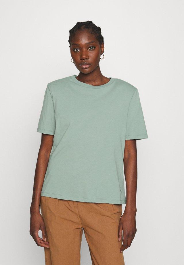 JORY TEE - T-shirts - slate gray