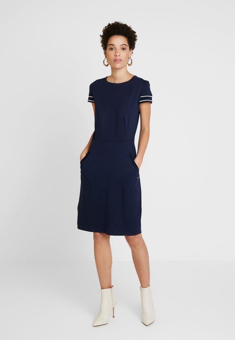 Betty & Co - Jersey dress - blue