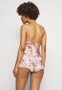 Marks & Spencer London - ROSIE PRINT  - Pyjamasbukse - light pink - 2